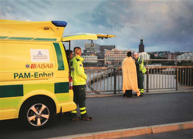 Sweden has an ambulance for mental health emergencies