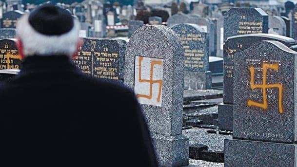 It's not just holocaust deniers, anti-jewish sentiment is alive and well
