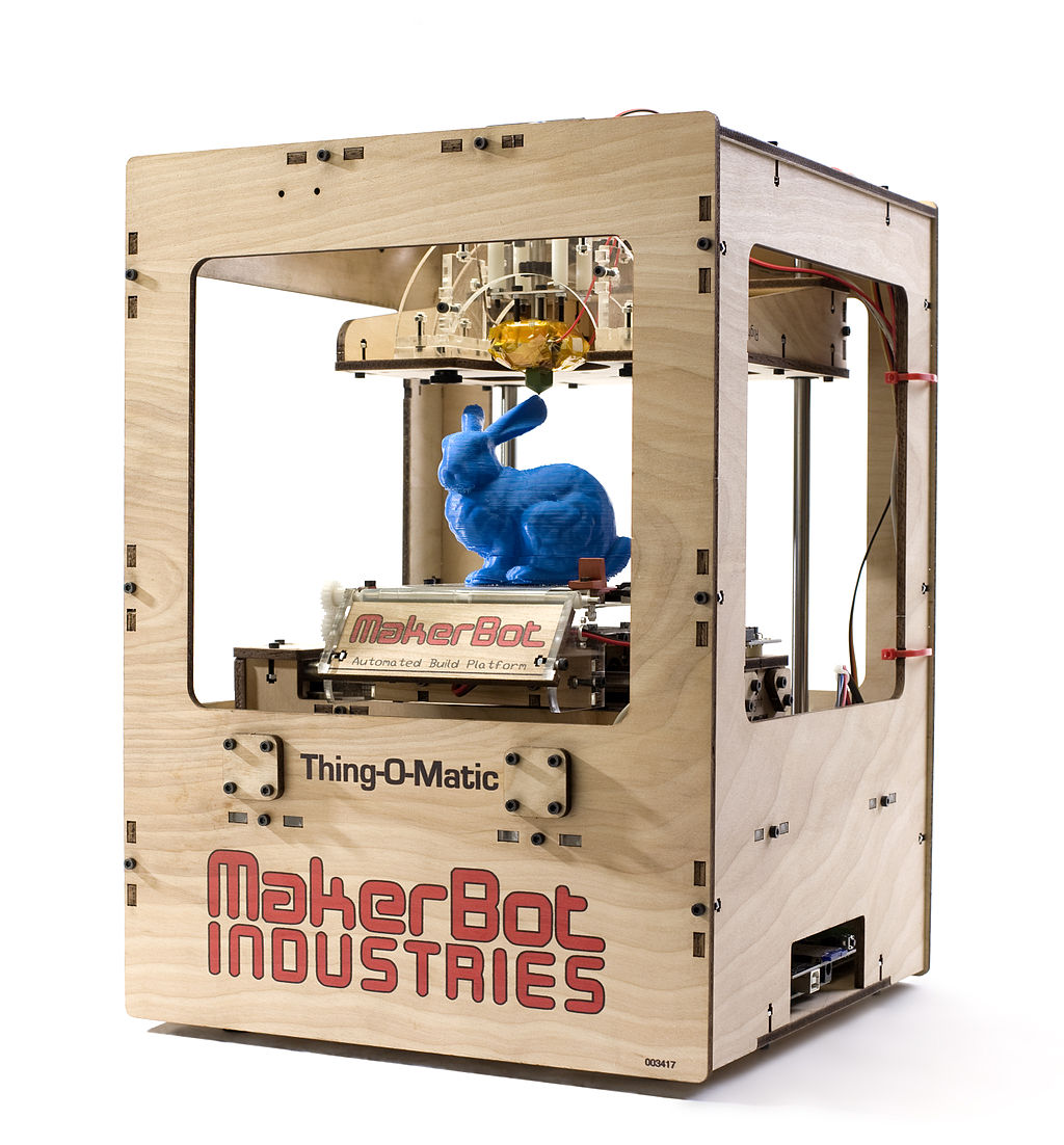 3D Printing – A game changer – and apparently prints bunnies too…