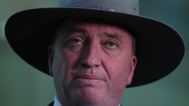 Section 44, what is it good for? Or: Why I stopped caring and pitied Barnaby Joyce