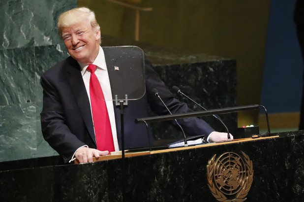 The UN laughing in Donald's face may be the meme that defines the man