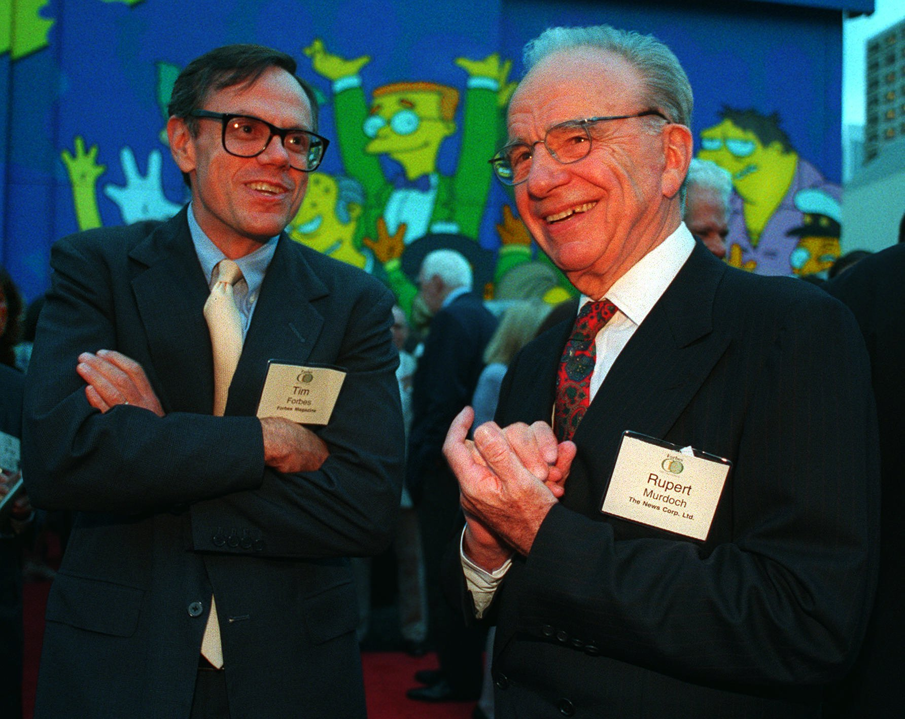 S&M: Rupert Murdoch – Won't somebody please think of the Simpsons?