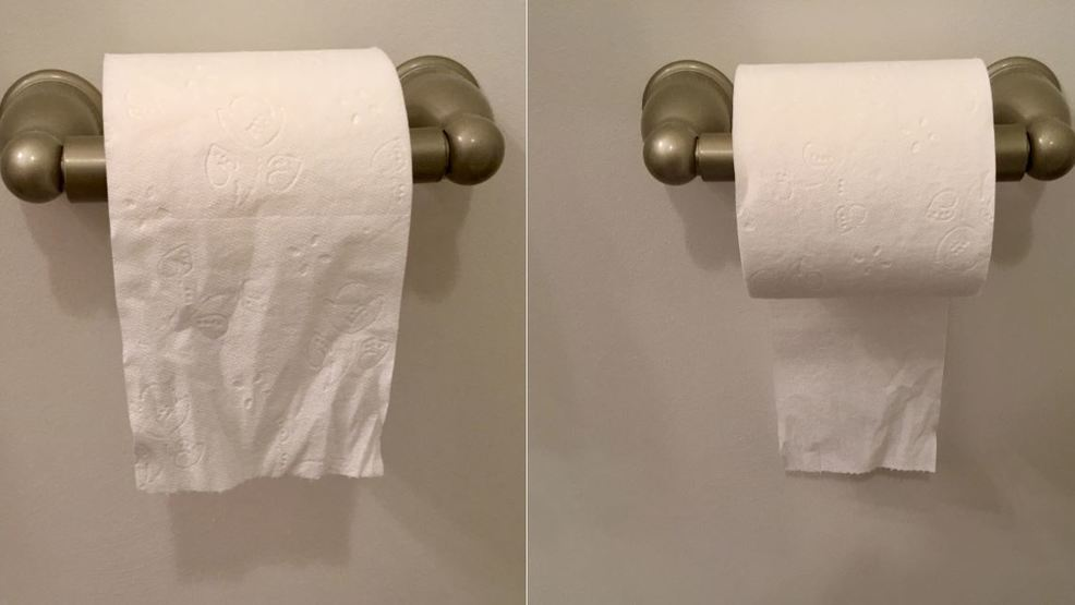 Patent answers the great 'over' versus 'under' toilet paper debate
