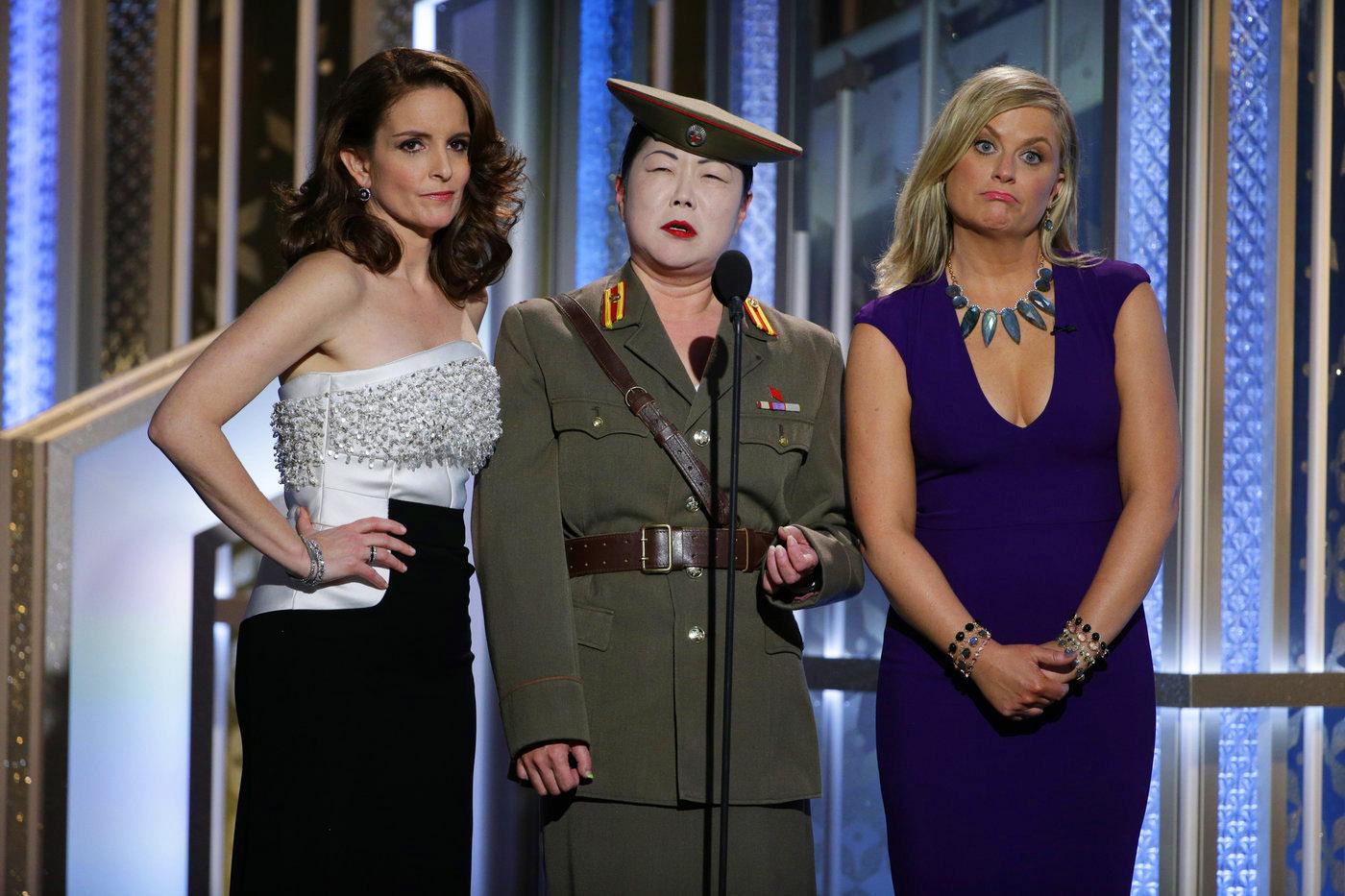 Golden Globes, Golden Dresses and Golden Jokes….