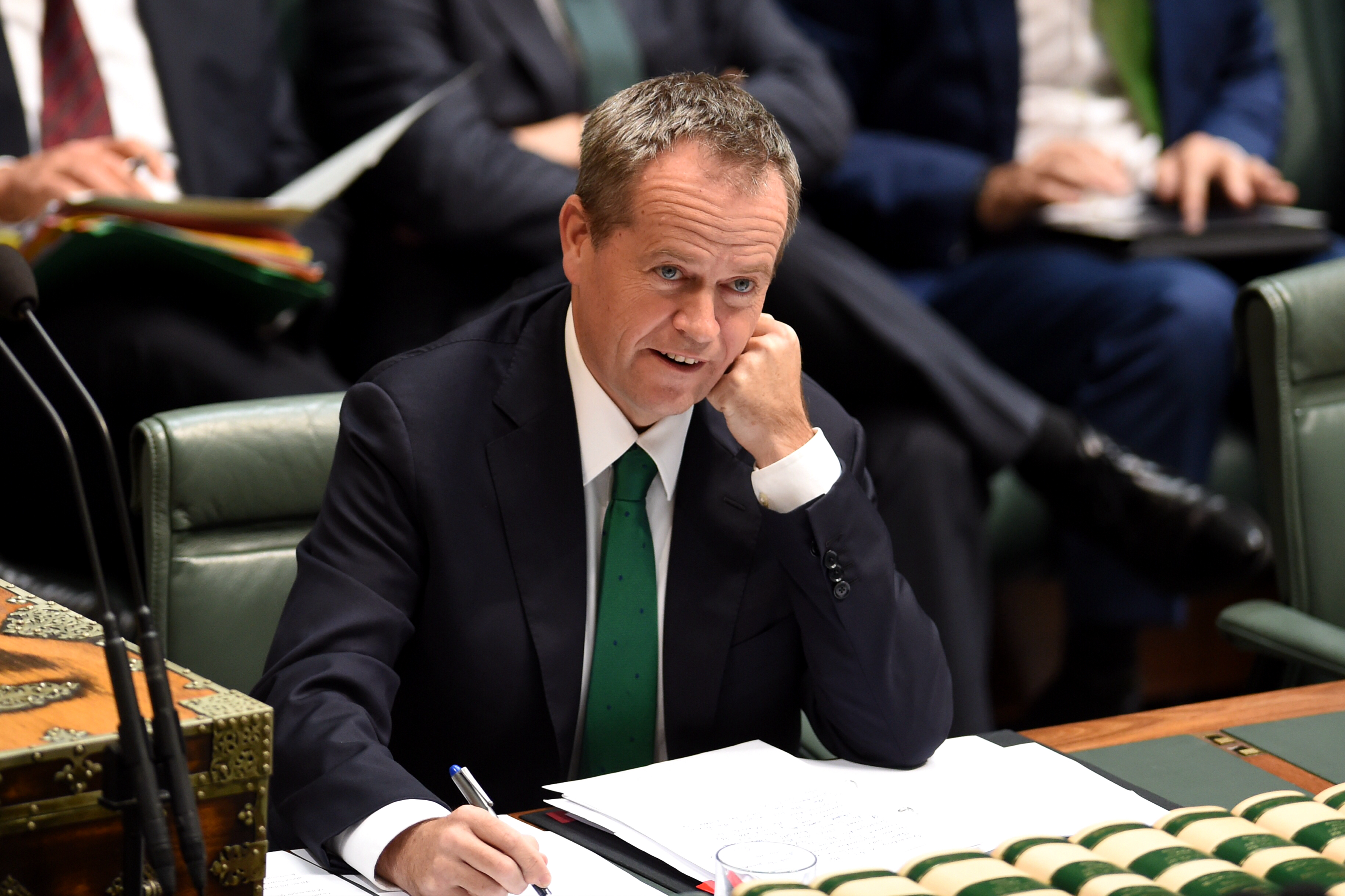 WMD: Military scientists attempt to weaponise Shorten's blandness