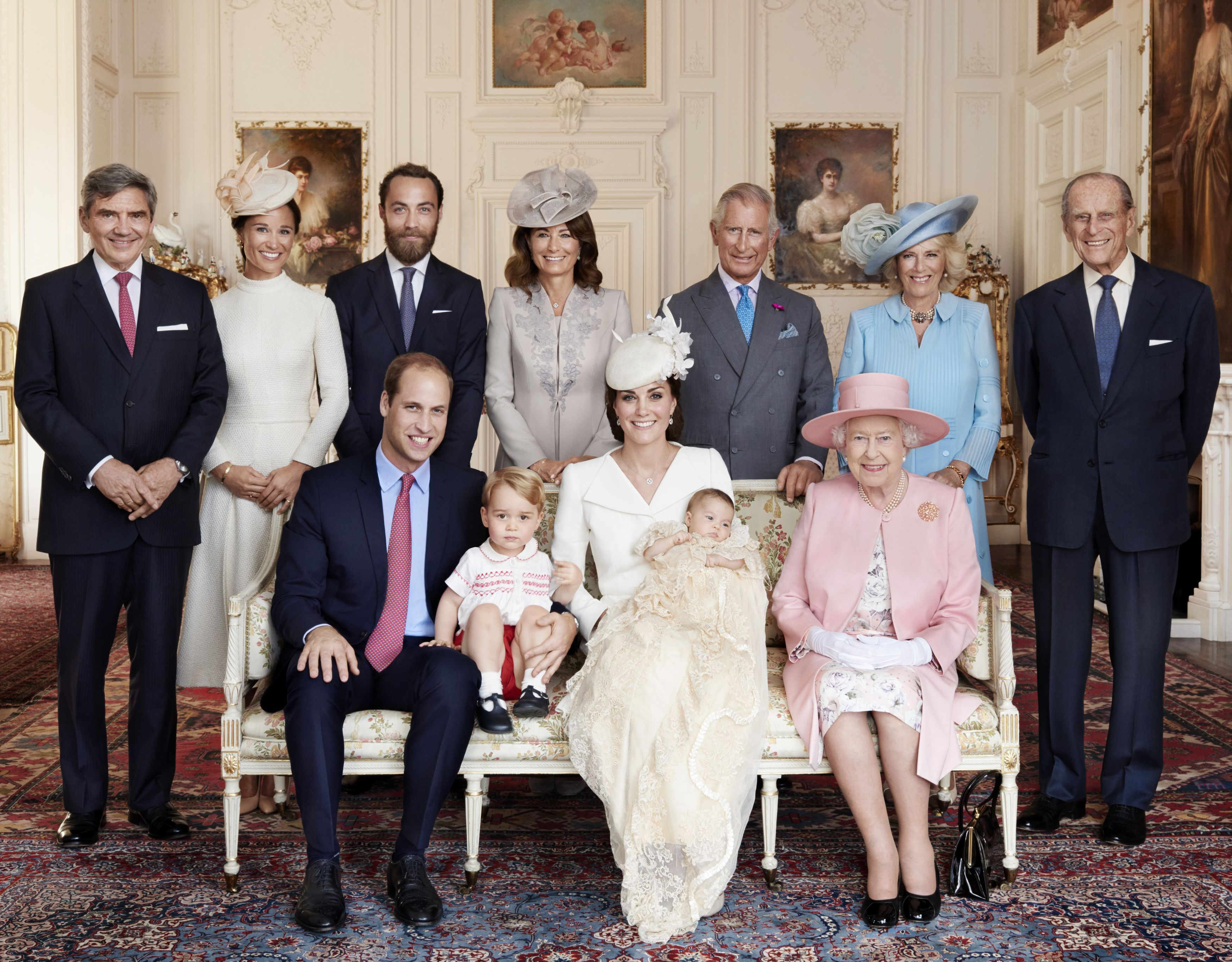Royal christening photos – why should a monarch appear mortal?