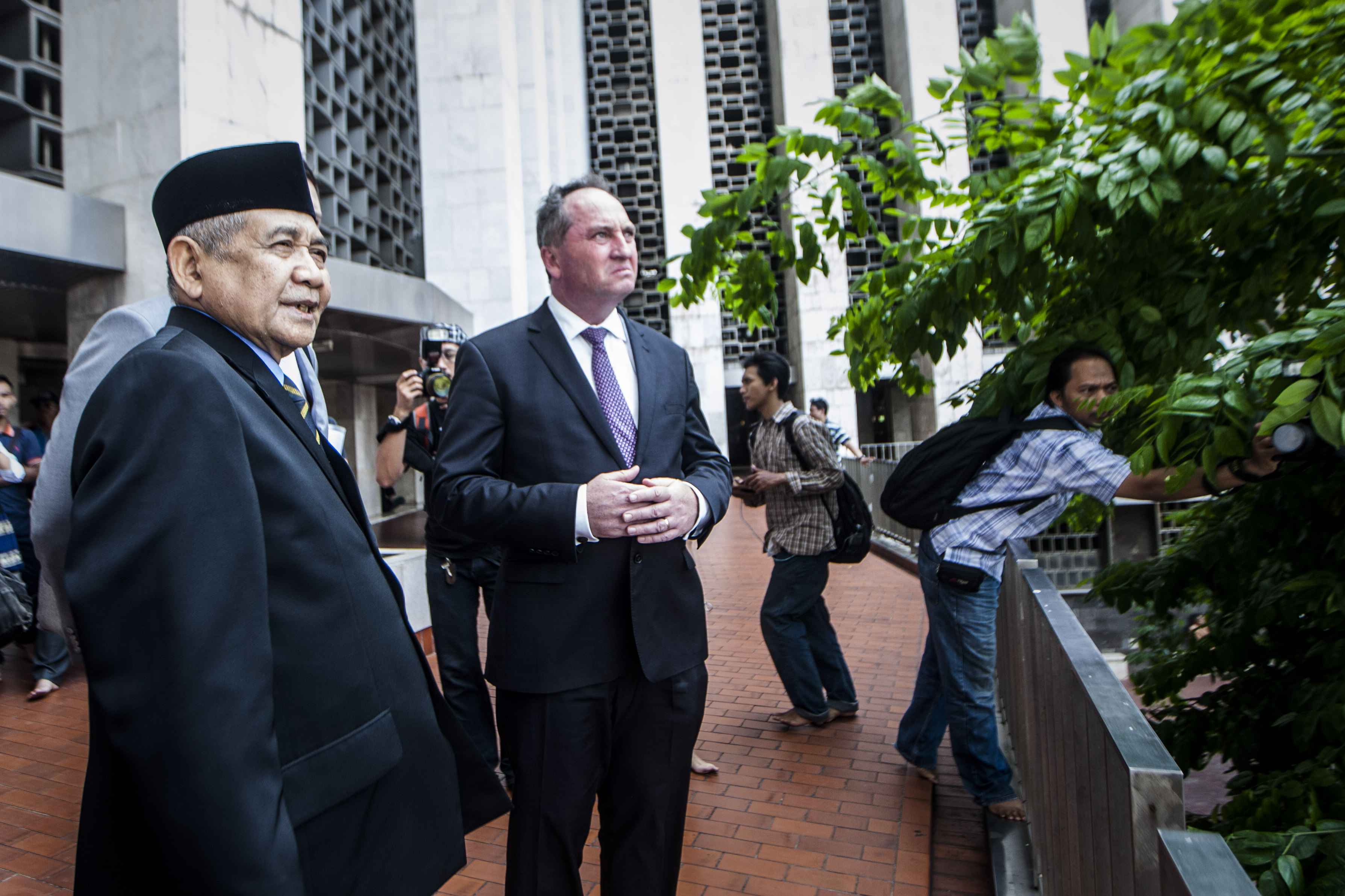 Barnaby Joyce: The right man to mend fences with Indonesia