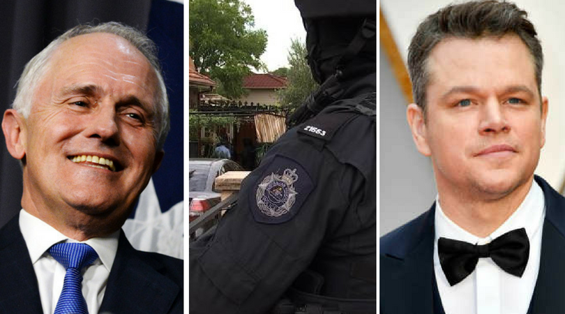 While you were asleep: Mal's cabinet shuffling, local arrested on terrorism charges, Damon commits social suicide