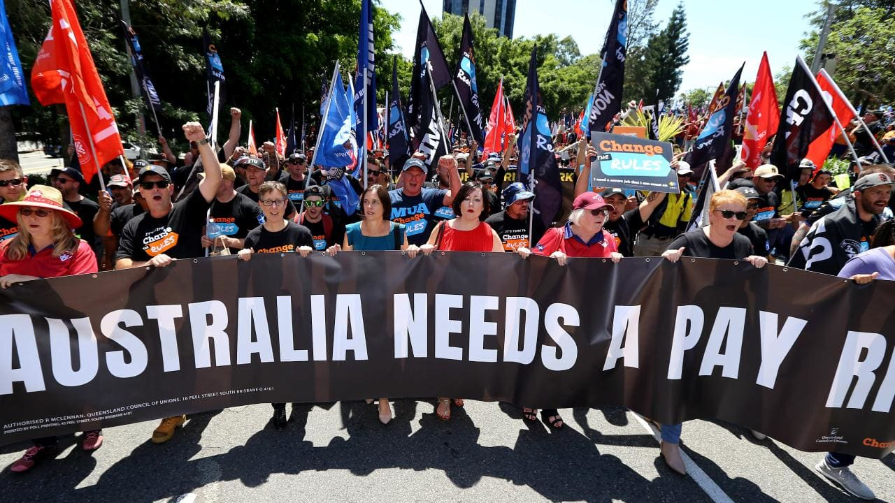 Scott Morrison's war on trade unions begins with new bill
