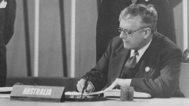 Herbert Vere Evatt: The Australian who led the UN general assembly