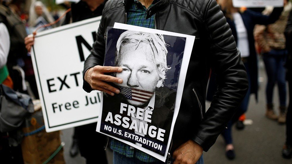 This Assange supporter abusing the press is the best thing you'll see all day