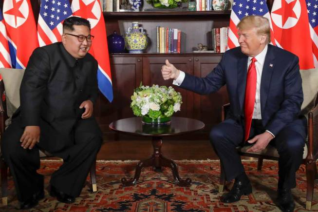 When Kimmy met Donny (again): North Korea wants another Trump summit