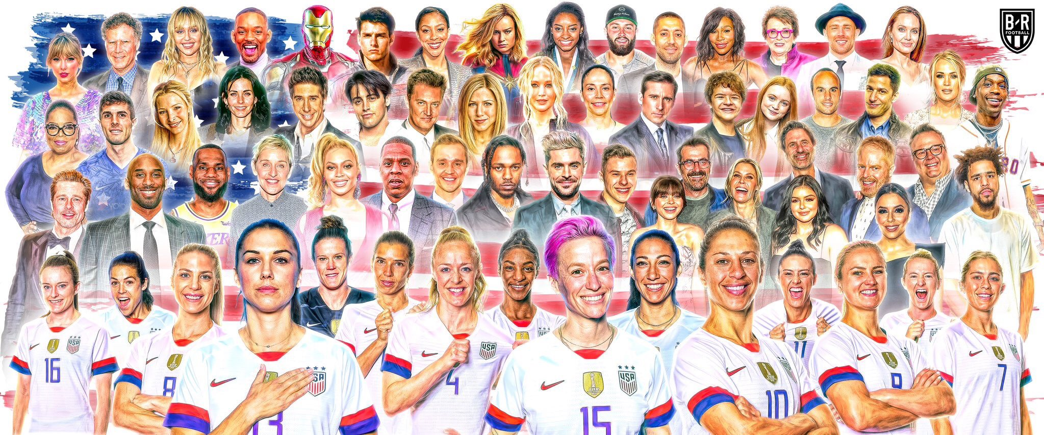 The women who won the World Cup want to be taken seriously, Bleacher Report thinks they're as good as 'Top Gun'