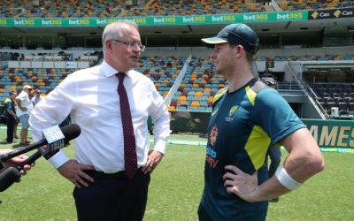 Morrison fighting bushfires with cricket has bowled me over