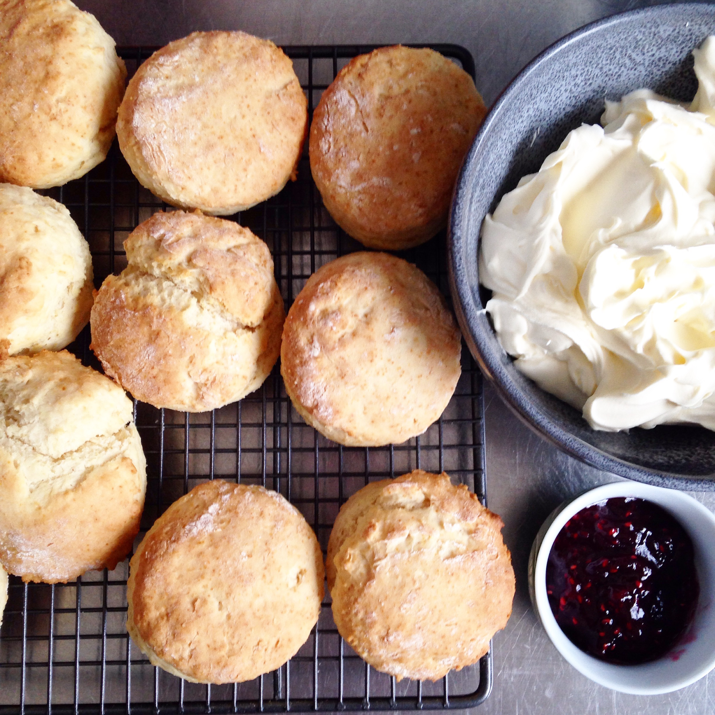 Home Grown Country Life: Easy peasy foolproof scones