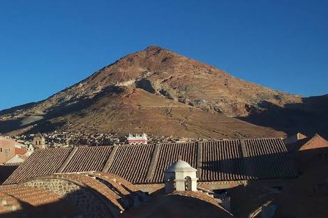 The Bolivian mountain that eats miners