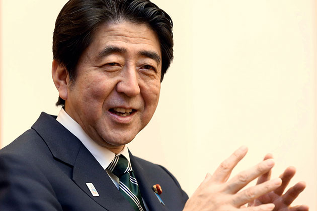 Nationalist pride of PM Abe takes precedence over peace
