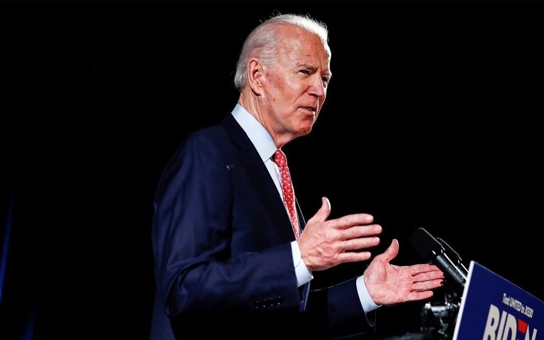 The other guy's fight: Biden is looking for the 'soul' of America