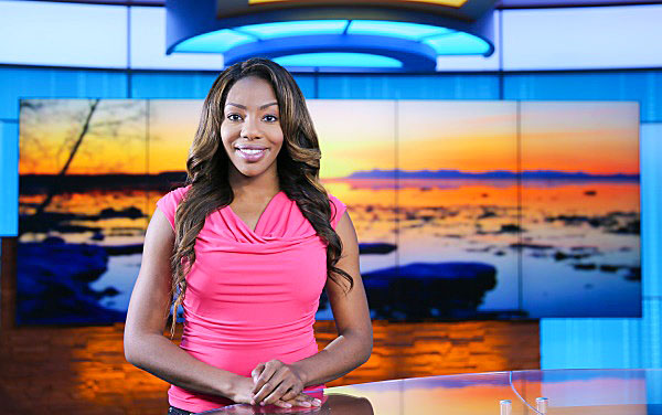 Charlo Greene is ALL about the green…