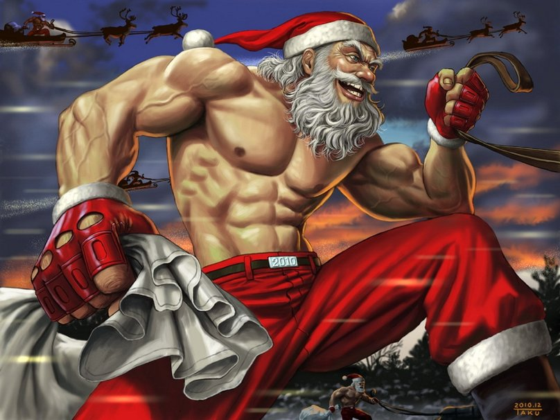 Toughen up team, or no Santa for you…