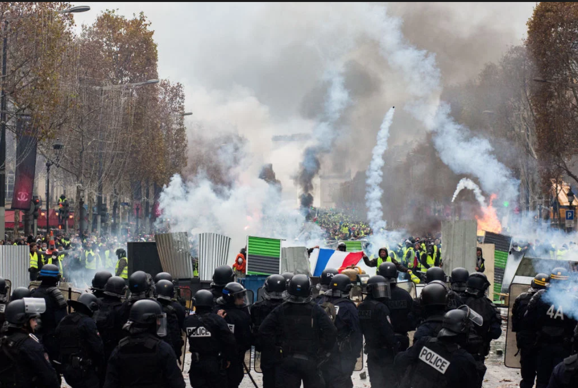 The Paris example: Can violent protest bring change elsewhere?