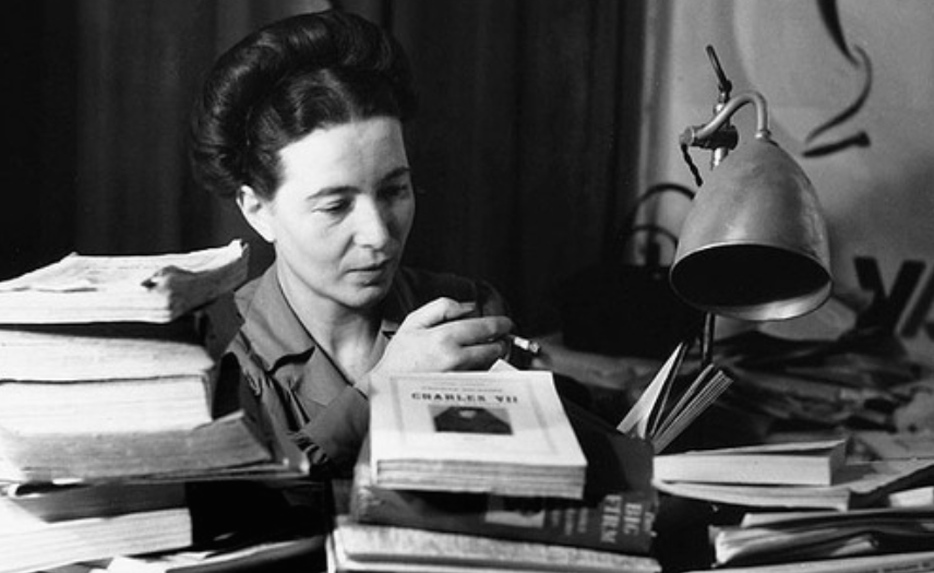 Know who you're Googling: Simone de Beauvoir