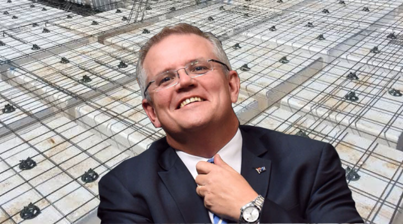 Morrison to concrete remaining trees to protect nation from bushfires