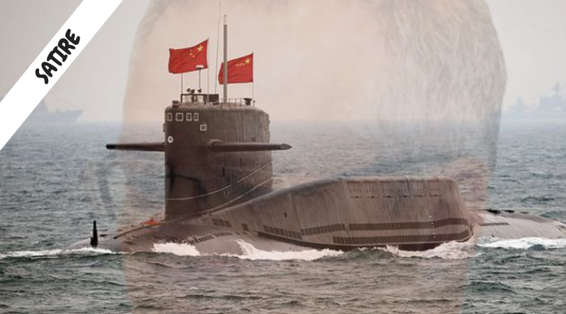 Nation begs China to send submarine to 'Harry Holt' PM