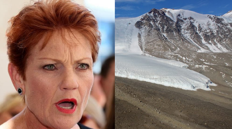 Defeated at Uluru, Pauline vows to keep Antarctica white