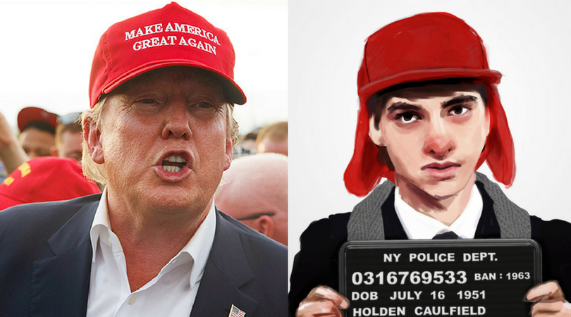 Trump: Catching empathy for the weirdo in the red hat
