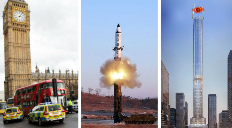 While you were asleep: London attack misinformation, NK missile test limp, New York's overcompensation tower