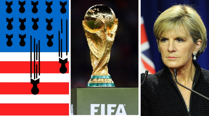 While you were asleep: US bomb total, FIFA's WC expansion, News-cycle gets old