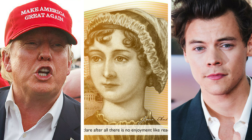 While you were asleep: Trump's new motto, UK disses Austen, Our new Depp