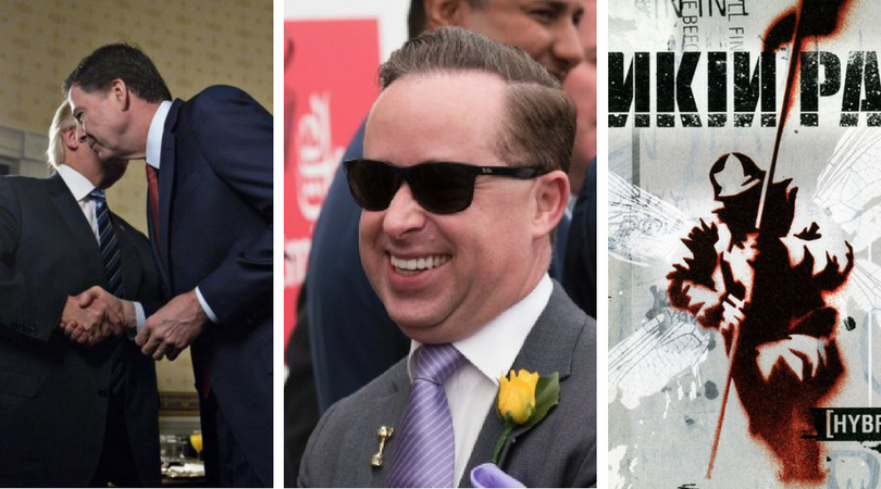 While you were asleep: Trump admin implodes, Joyce charges pieface, Linkin Park disowns best album