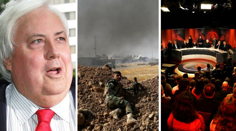 While you were asleep: Clive's new project, Mosul battle restarts, Tanya rules QandA