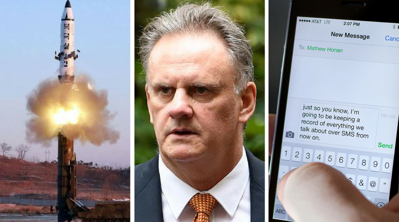 Current Affairs Wrap: North Korea's limp bang, Mundine v Latham, textual assault in Wisconsin