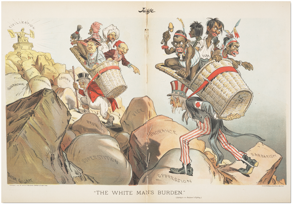 """The White Man's Burden (Apologies to Rudyard Kipling)"" Judge, April 1, 1899"