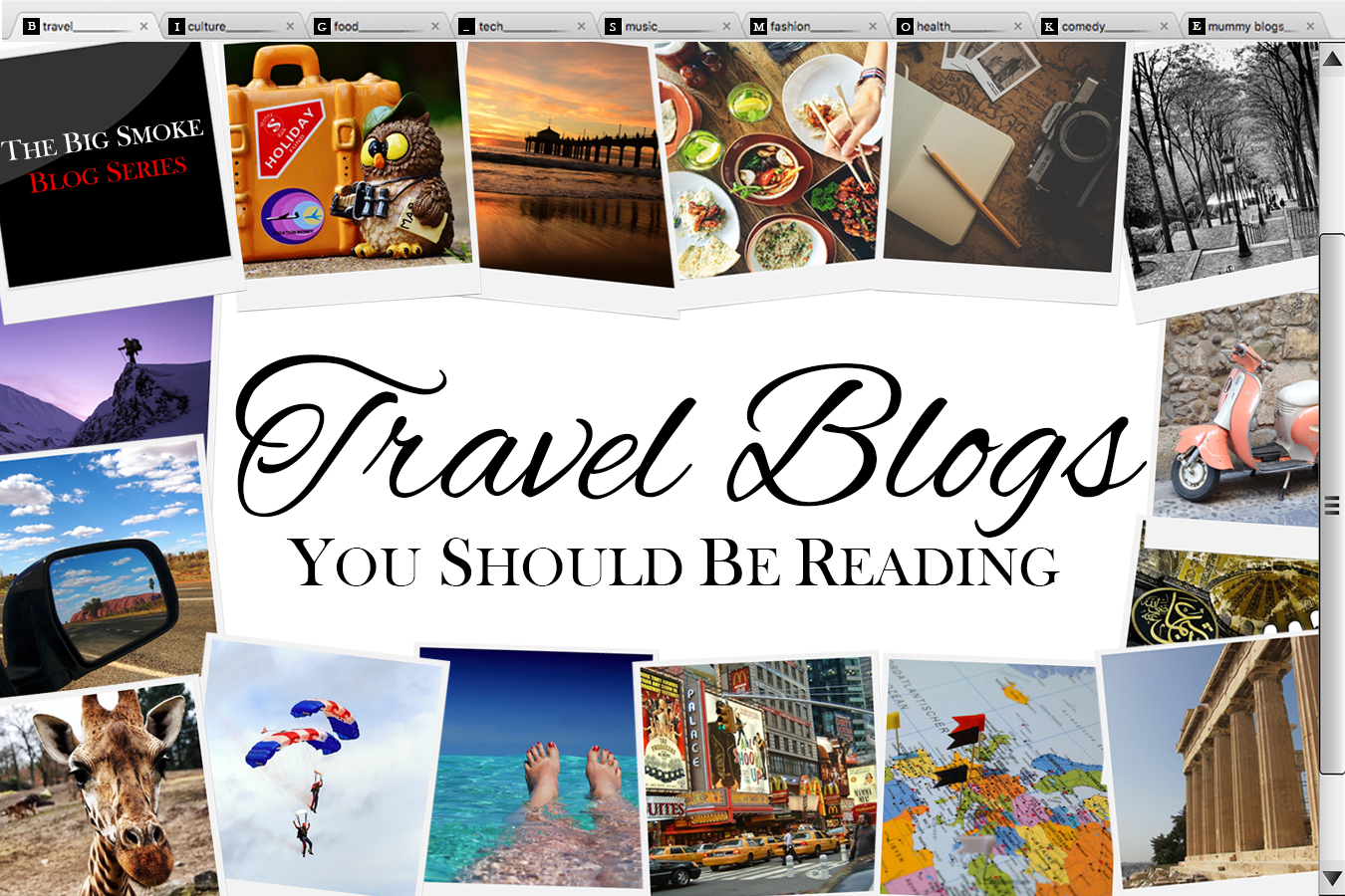 TBS Blog Series: Travel blogs you should be reading