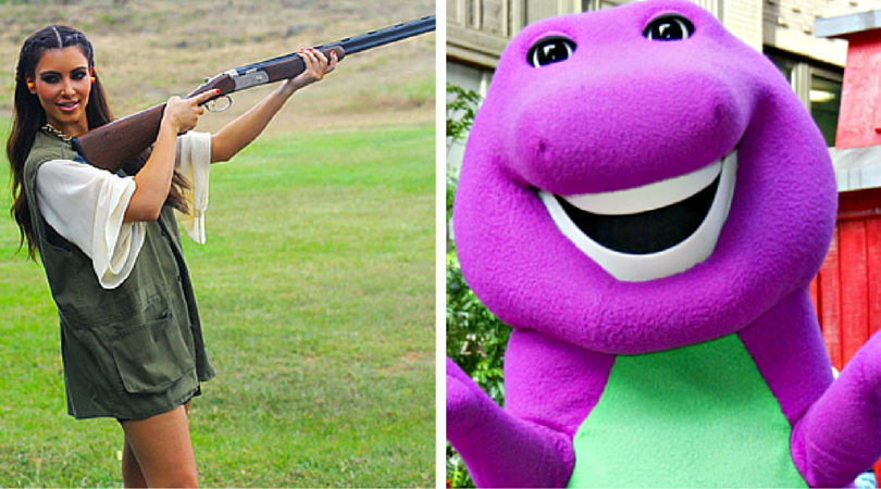 While you were asleep: Sen Kardashian speaks out on gun control, Northern Ireland win by losing and Barney remake greenlit inside girl's head