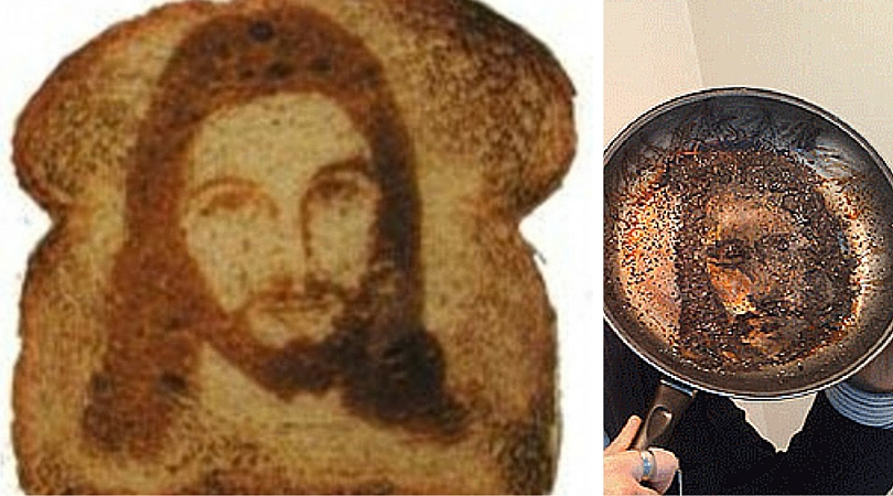 Toast Jesus theory burnt by scientific study