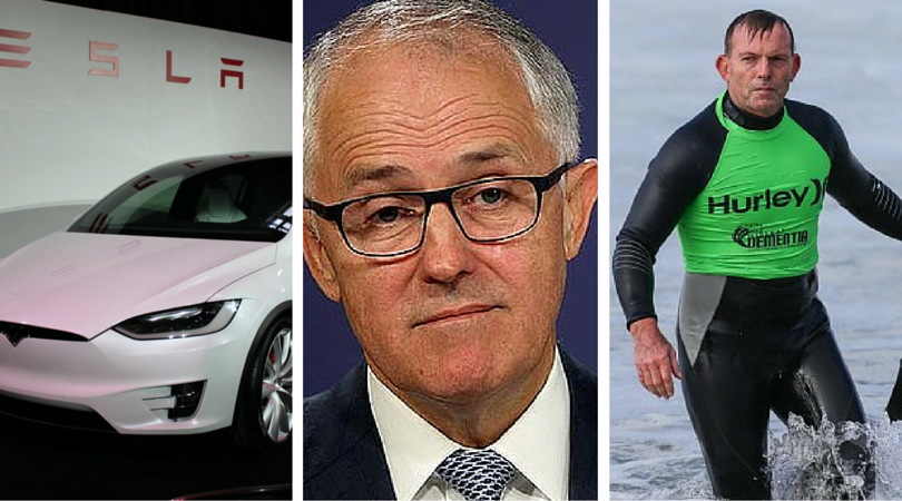CAW: The electric car for all, Turnbull for some, Trump for none.
