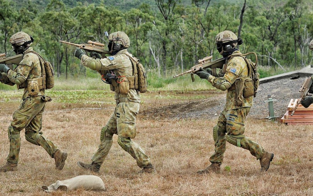 Morrison paves the way for military personnel on our streets