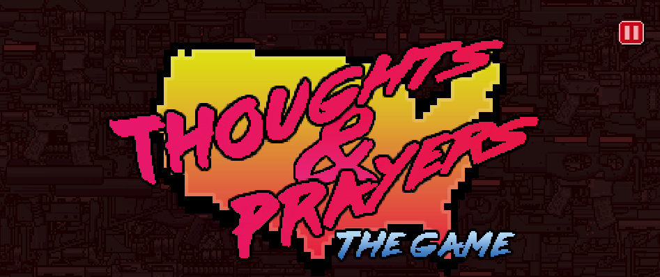 Someone made a video game where you try and prevent mass shootings with thoughts and prayers