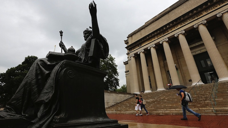 Columbia – When rape charges aren't enough to get you expelled…
