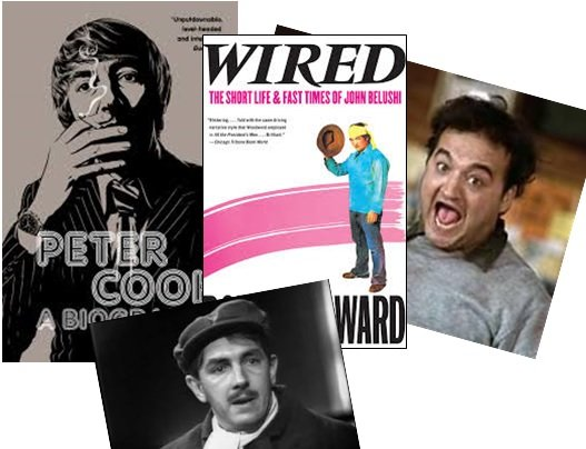 Cook and Belushi: Comedy's Icarus split in two forms