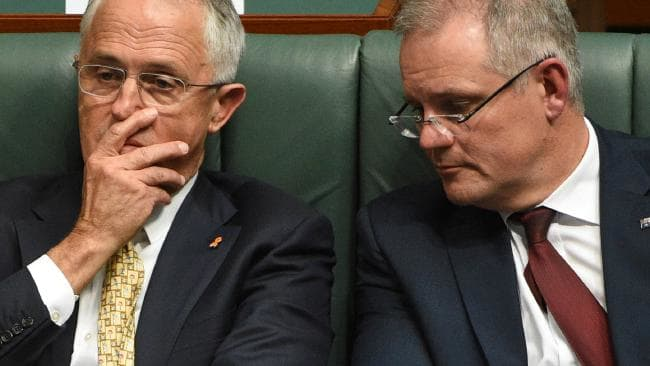 Scott Morrison is lip-syncing his post-budget performance