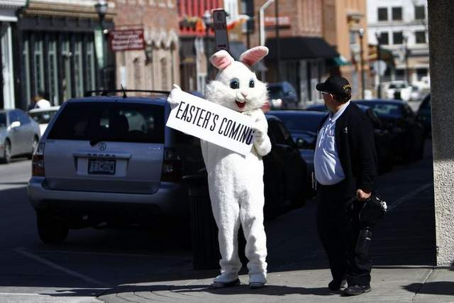 The Easter Bunny: Secular salesman or class war commandant?