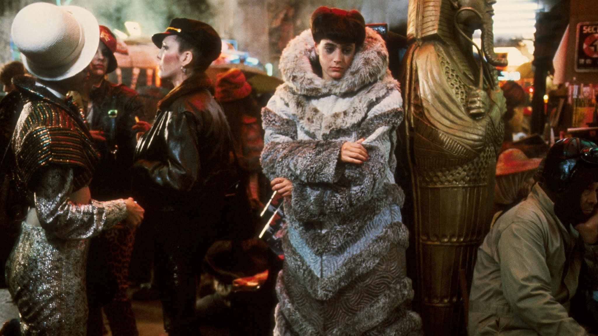 Where's our sweet Blade Runner fashion, Hollywood?