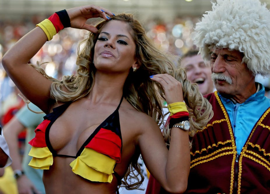 Why do we still only see attractive female fans at the World Cup?