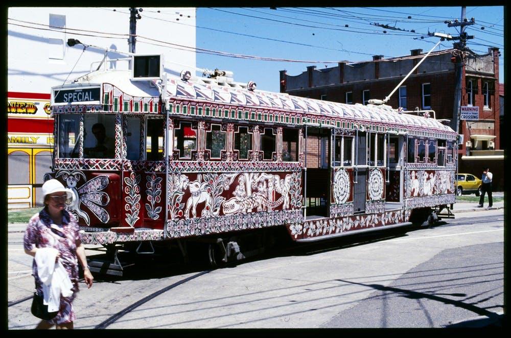 Mirka Mora Tram, 1980